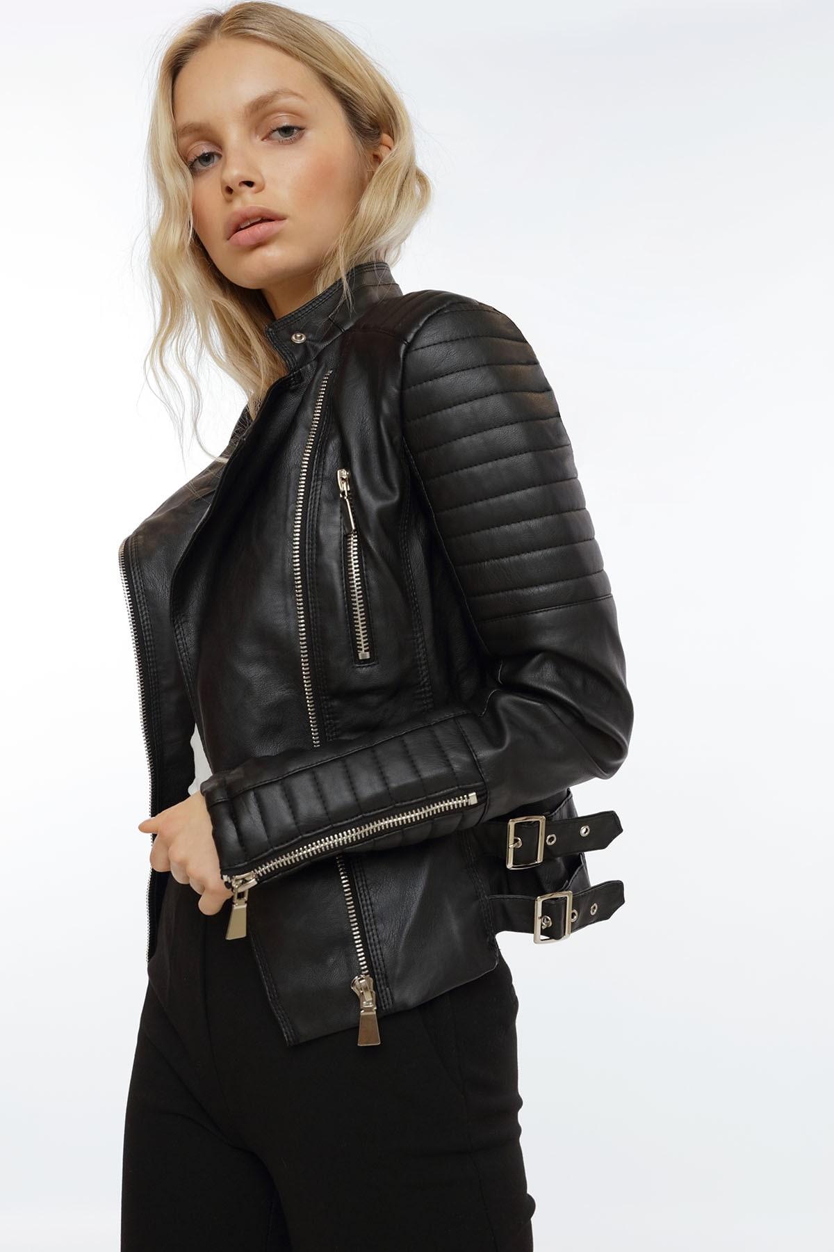 75f7f5d13ab Moto Jacket Black. PREORDER XS + S + M
